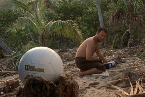 Tom Hanks em Cast Away