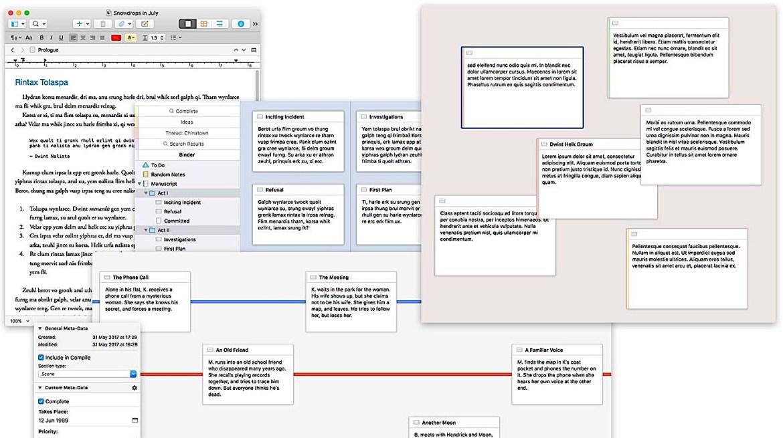 Scrivener 3 imagem