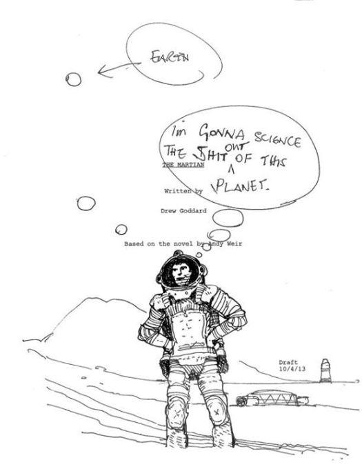 capa The Martian Ridley Scott