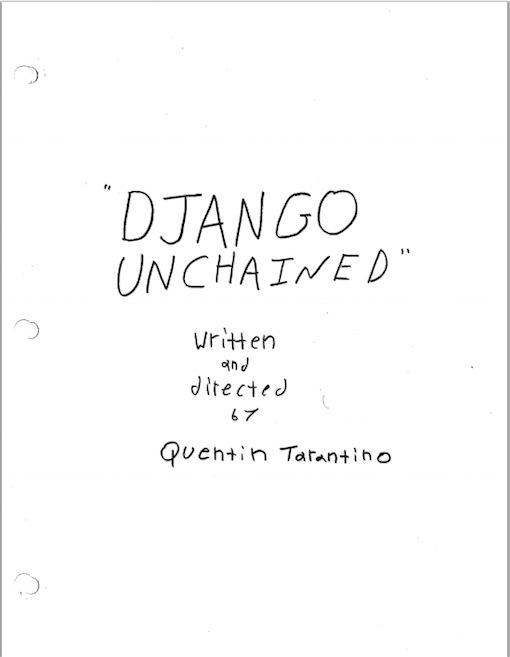 capa django unchained