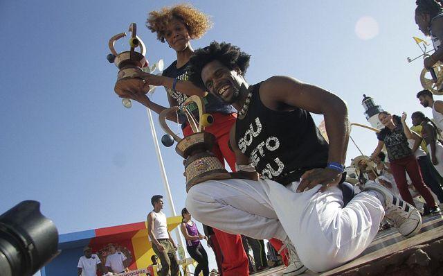 Bibinha e Gugu Quilombola, conquistam título do Red Bull Paranauê Capoeira Portal Capoeira
