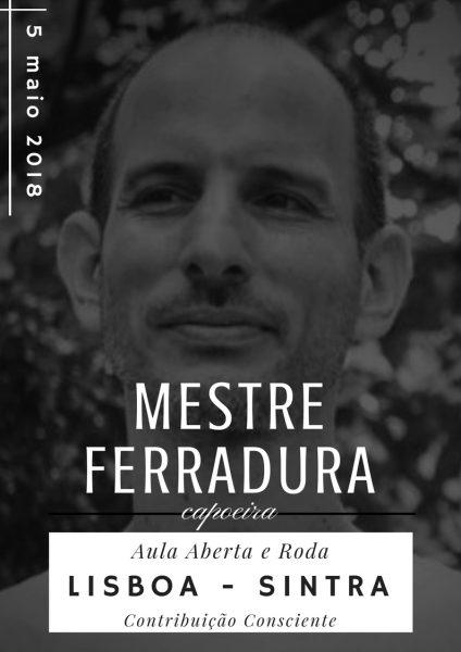 Mestre Ferradura em Portugal - Aula Aberta e Roda de Capoeira Capoeira Portal Capoeira 3