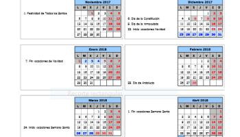 Calendario Sevilla.Calendario Escolar Andalucia Y Sevilla 2015 2016 Papanoara