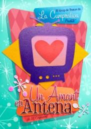 """Theatrical Poster """"Un Amant en Antena"""""""
