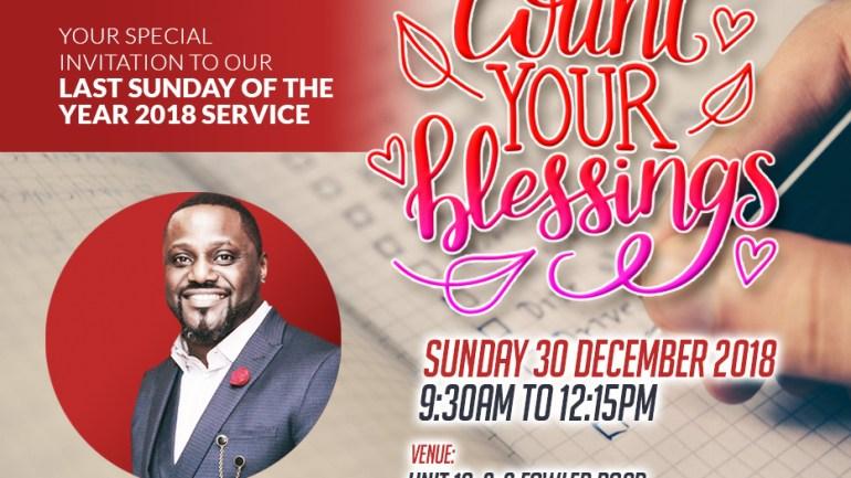 Rev Paul-Kayode Joash @ RCCG Chapel of Truth, London