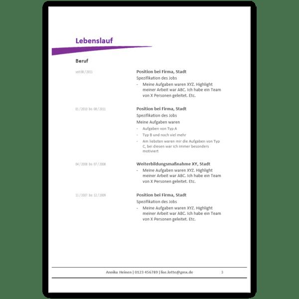Lebenslauf 2016 Muster, Aufbau, Gestaltung & Tipps