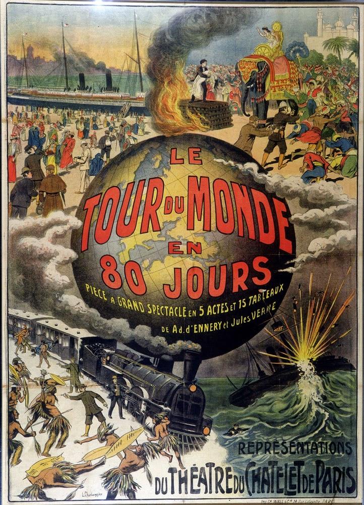 Le Tour Du Monde En 80 Jour : monde, French, Monde, Jours, Babylangues, Book:
