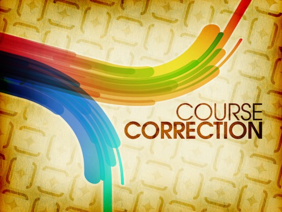 Image result for Course correct.