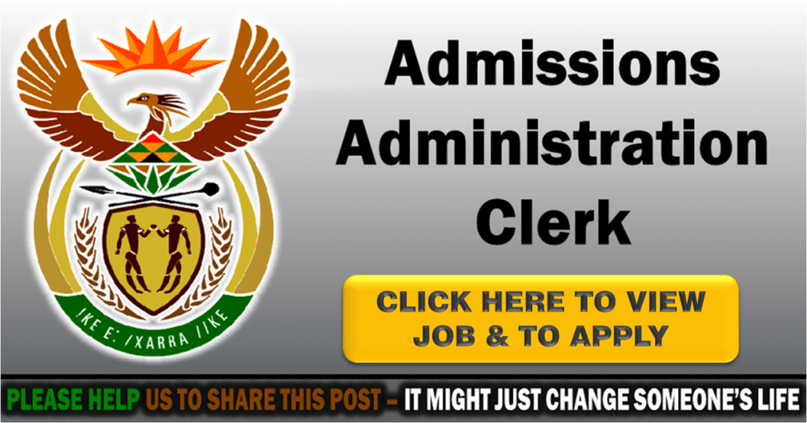 ADMINISTRATION CLERK (ADMISSIONS)