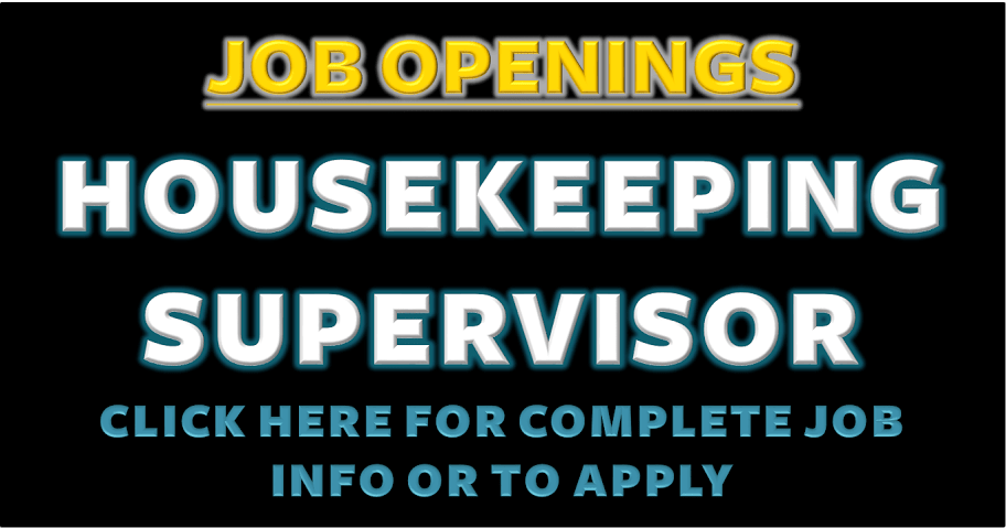 HOUSEKEEPING SUPERVISOR CAPE TOWN