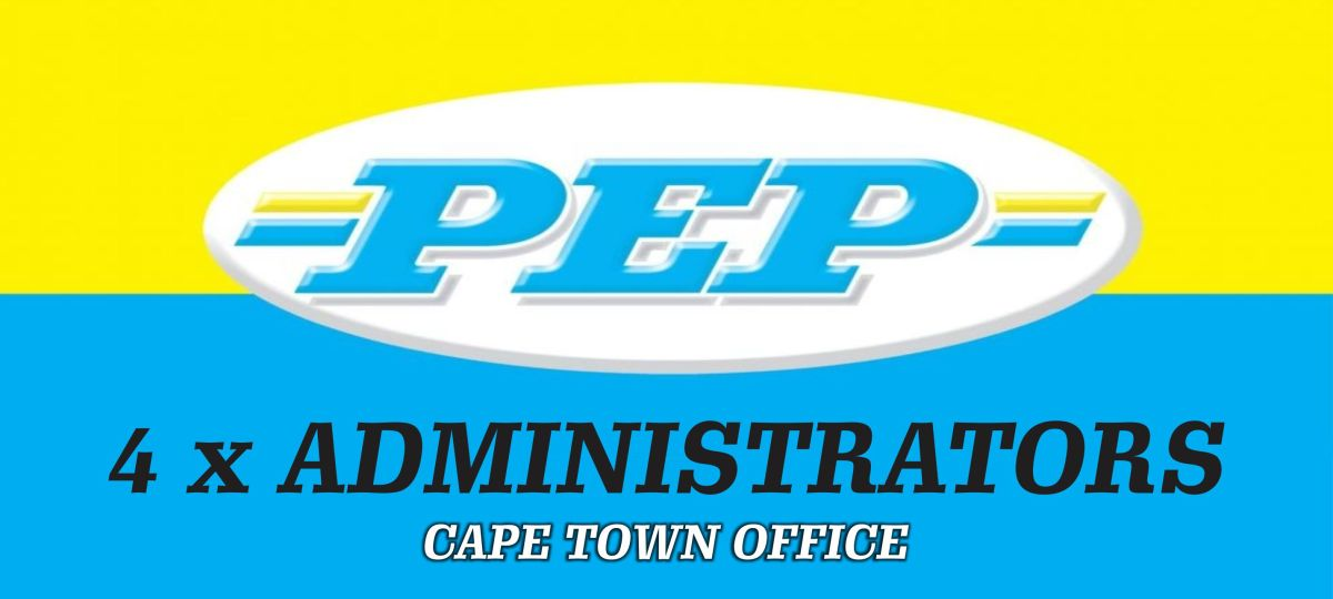 4 x VACANCIES AVAILABLE: ADMINISTRATORS (PEPKOR)
