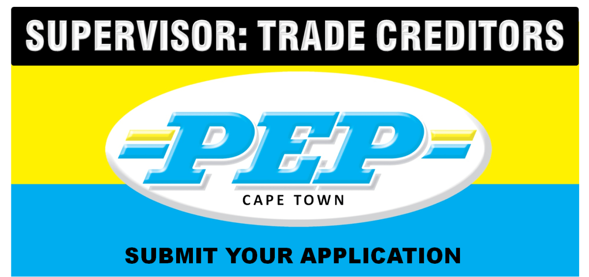 SUPERVISOR: TRADE CREDITORS CAPE TOWN