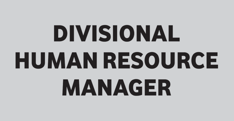 DIVISIONAL HR MANAGER