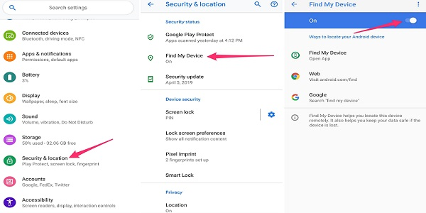 How to Locate and Send on-screen message to lost phone with Gmail