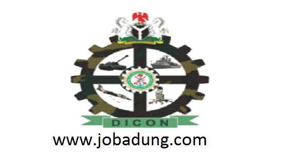 dicon recruitment 2020 | ministry of defence/Industries corporation of nigeria