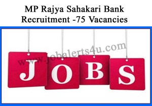 mp rajya sahakari bank recruitment 2021