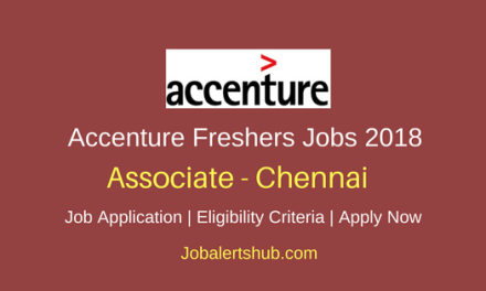 Accenture Freshers Associate 2018 Vacancies | Graduation/PG (Pharma) | Chennai | Apply Now