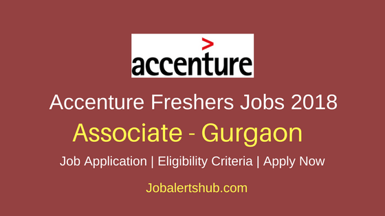 Accenture Freshers Associate 2018 Risk Investigation – 100 Vacancies | Gurgaon | Degree/PG | Apply Now