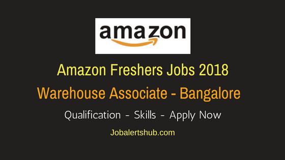 Amazon Bangalore 2018 Warehouse Associate Jobs – 100 Vacancies | 12th, Any Graduate | Apply Now