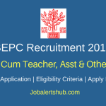 Bihar Education Project Council 2018 Warden Cum Teacher, Asst  & Others Posts – 23 Vacancies | 5th, 10th Class, Any Degree | Apply Now