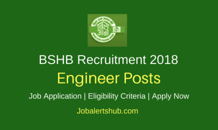 Bihar State Housing Board (BSHB) Recruitment 2018 Asst Engineer & Junior Engineer Posts – 37 Vacancies | Diploma/B.Tech | Apply Now