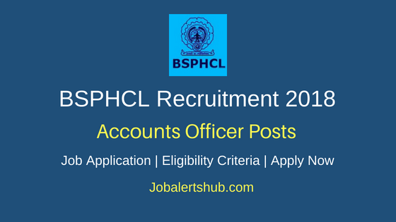 Bihar State Power Holding Company Limited (BSPHCL) 2018 Accounts Officer Jobs – 30 Posts | CA/ CMA/ ICWA | Apply Now