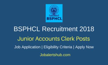 Bihar State Power (Holding) Company Ltd Recruitment 2018 Junior Accounts Clerk Posts – 350 Vacancies | Degree Commerce | Apply Now