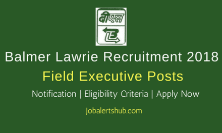 Balmer Lawrie Field Executive Jobs – 42 Vacancies | 12th | Apply Now