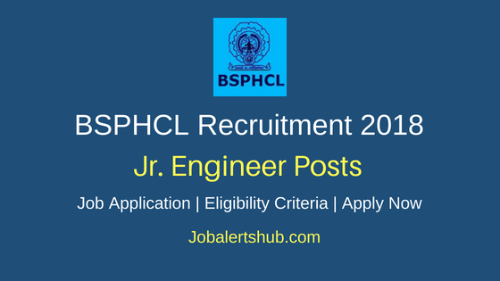 Bihar State Power Holding Company Limited (BSPHCL) 2018 Jr Electrical Engineer Posts – 400 Vacancies | Diploma | Apply Now