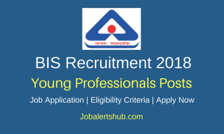 Bureau of India Standards 2018 Young Professionals, Intern & Trainees Posts – 158 Vacancies   Degree, Master Degree, PG, CA   Apply Now