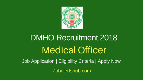 District Medical And Health Officer (DMHO) Krishna Machilipatnam 2018 Recruitment Medical Officer, Staff Nurse, Data Entry Operator & Other Posts – 25 Vacancies | 12th, Diploma, Graduation, MBBS, MD, GNM | Apply Now