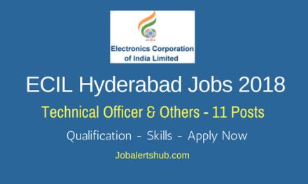 ECIL Hyderabad Jobs 2018   Technical Officer, Scientific Asst & Jr Artisan – 11 Vacancies   Diploma/Degree   Apply Now