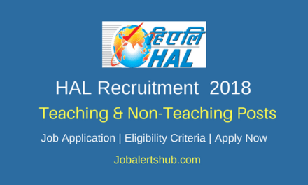 HAL Education Committee Recruitment 2018   PRT, Teacher, Counselor, Ayah, Attender  – 26 Posts   10th/Degree/PG   Apply Now
