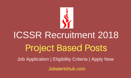 Indian Council of Social Science Research (ICSSR) 2018 Documentation Officer, Programmer, Upper Division Clerk and other Jobs   12th, Degree, Master Degree   Apply Now