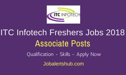 ITC Infotech Ltd 2018 Associate Freshers Jobs Bangalore | Graduation | Apply Now
