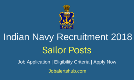 Indian Navy 2018 Recruitment Stewards, Chefs and Hygienists Posts |10th Class| Apply Now