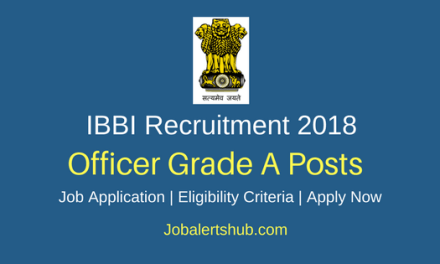 IBBI 2018 Officer Grade A (Assistant Manager) Posts – 18 Vacancies | PG | Apply Now