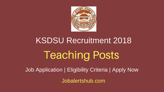 Kameshwar Singh Darbhanga Sanskrit University (KSDSU) 2018 Assistant Professor Posts – 192 Vacancies | Master Degree | Apply Now