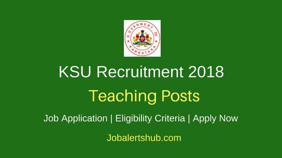 Karnataka Sanskrit University (KSU) 2018 Recruitment Teaching & Non Teaching Posts – 05 Vacancies| Master Degree, Ph.D| Apply Now