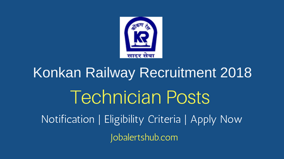 Konkan Railway Corporation Limited 2018 ESTM and Electrician Posts – 65 Vacancies | 10th + ITI | Apply Now