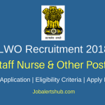 LWO Odisha Bhubaneswar 2018 Staff Nurse, Pharmacist, X-Ray & Lab Technician, Driver Posts – 11 Vacancies | 10th, 12th Class, Diploma | Apply Now