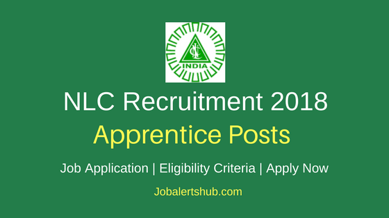 Neyveli Lignite Corporation Limited Recruitment 2018 Apprentice Posts – 07 Vacancies   ITI   Apply Now