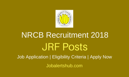 ICAR – NRCB Recruitment 2018 Junior Research Fellow, Young Professional-I & II & Technical Assistant Posts – 20 Vacancies | Graduate, PG with NET | Apply Now