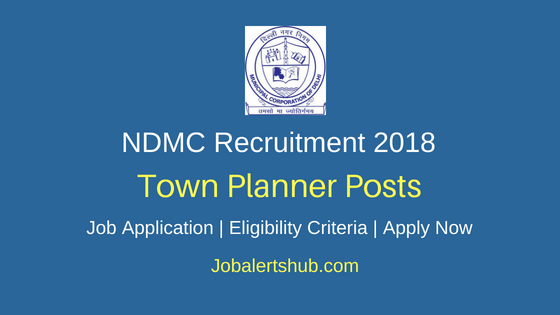North Delhi Municipal Corporation 2018 Asst Town Planner Jobs – 03 Posts   Bachelors Degree/ Masters Degree/ PG Degree/ Diploma   Apply Now