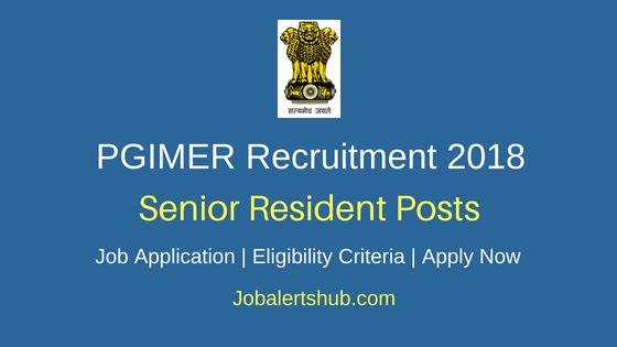PGIMER- Dr. Ram Manohar Lohia Hospital (RML) Recruitment 2018 Senior Resident Posts – 112 Vacancies   MBBS with PG Degree/Diploma   Apply Now