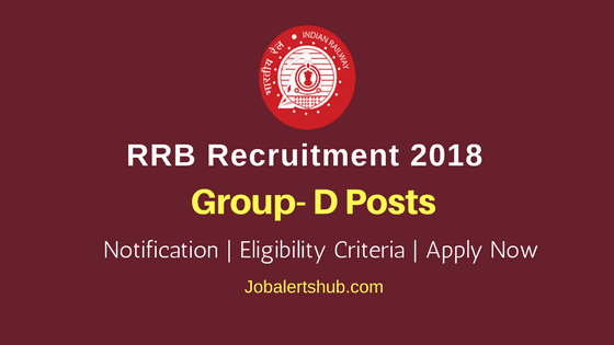 Railway Recruitment Board Group-D Posts – 62907 Vacancies | 10th Class + ITI | Apply Now