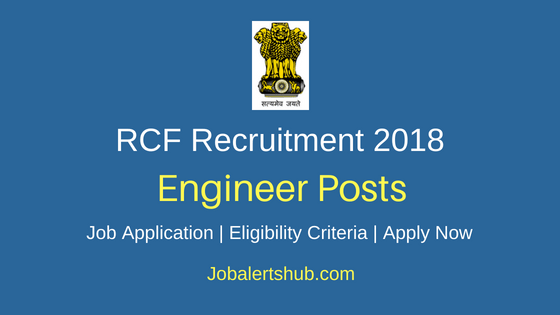 Rashtriya Chemicals and Fertilizers Limited (RCFL) 2018 Officer & Engineer Posts – 04 Vacancies | Graduation | Apply Now