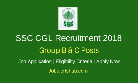 SSC Combined Graduate Level Exam Recruitment 2018 Group B & C Jobs | Graduation | Apply Now