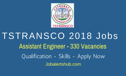 TSTRANSCO Recruitment 2018 | Assistant Engineer | B.Tech | Apply Now