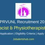 UPRVUNL 2018 Pharmacist & Physiotherapist Posts – 05 Vacancies | Diploma | Apply Now